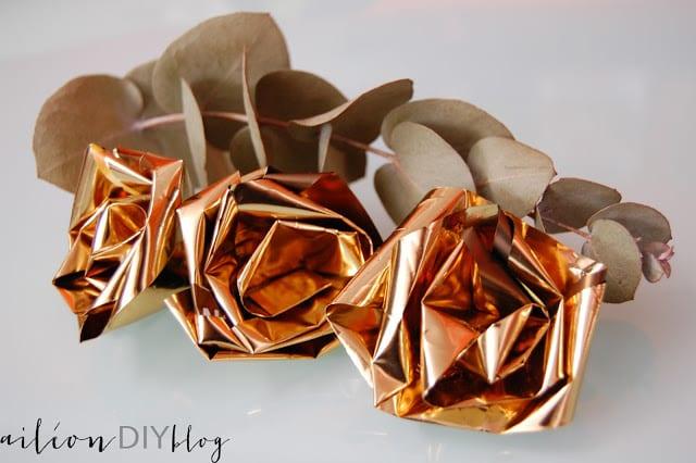 upcycled rose rosa reciclada diy