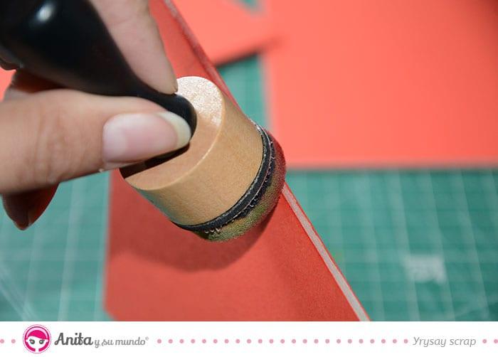 tapar bordes con tinta