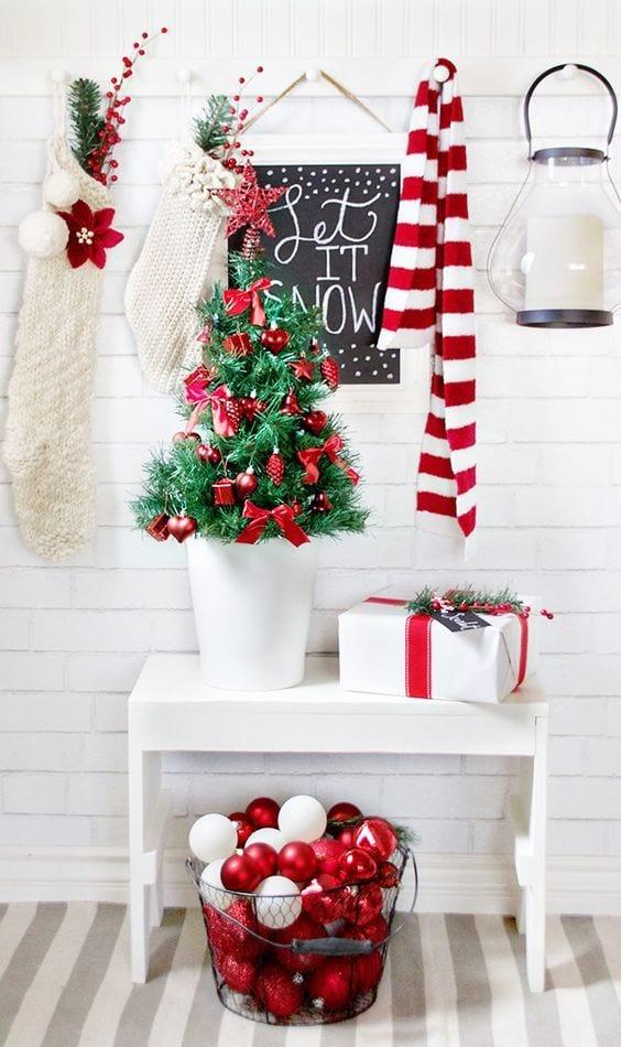 Decorar sin saturar en Navidad