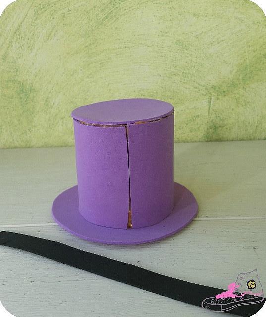 sombrero de goma eva
