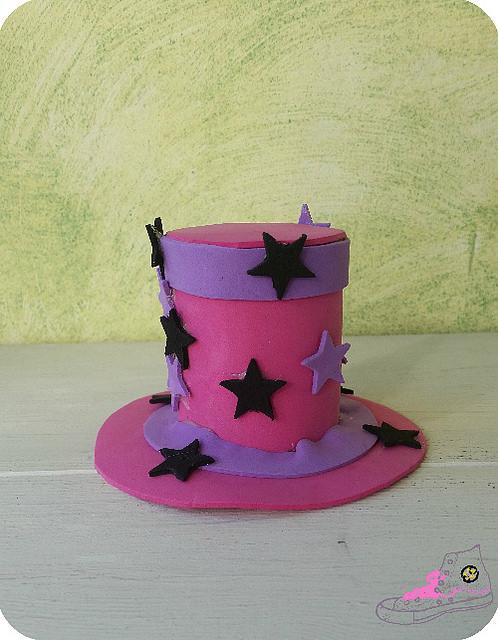 sombrerito rosa