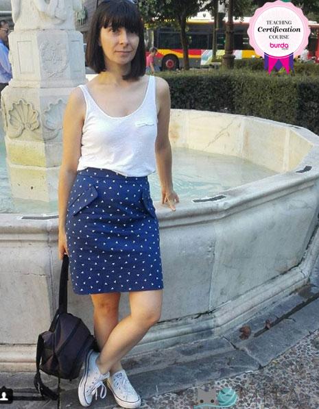 Burda falda