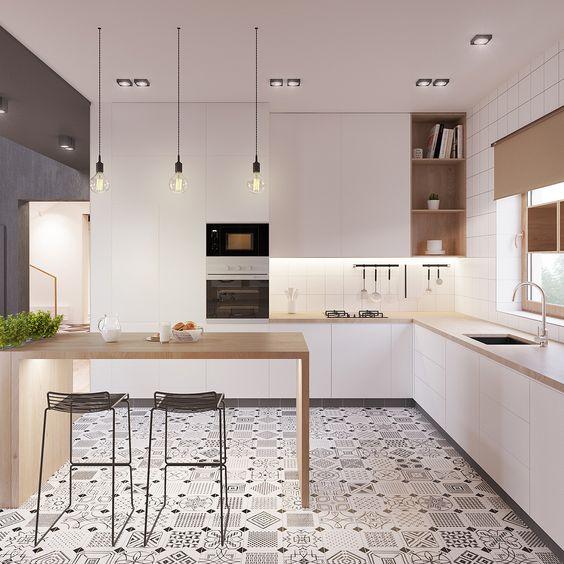 como iluminar tu casa - escoger la iluminacion de una cocina con diversas soluciones de Mrs PALS
