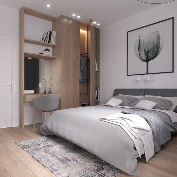 como iluminar tu casa - escoger la iluminacion del dormitorio - luz de techo