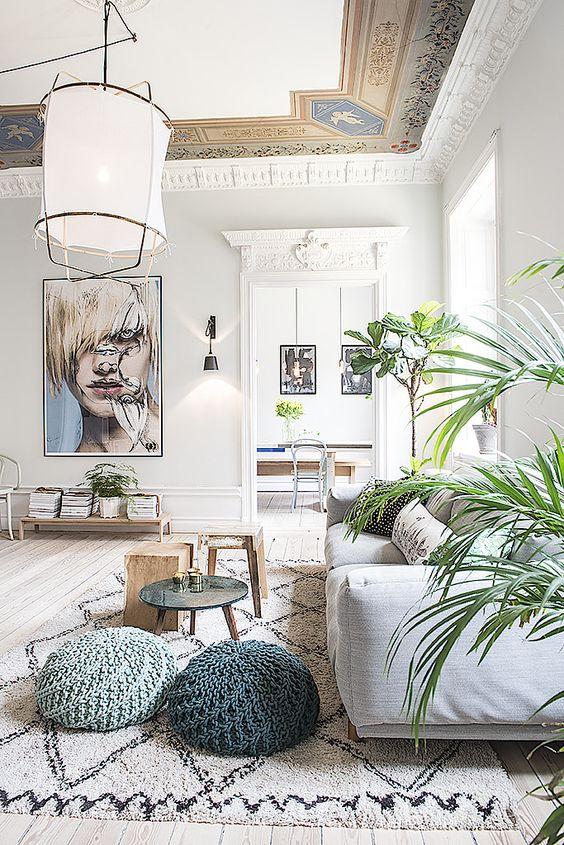 como iluminar tu casa - escoger la iluminacion en el salon - luz cenital