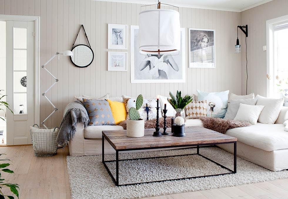como iluminar tu casa - escoger la iluminacion en el salon - puntos de luz mas tenue