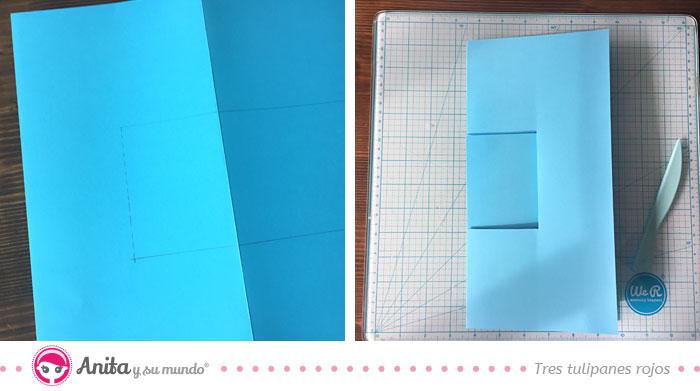cómo plegar album estructura zigzag