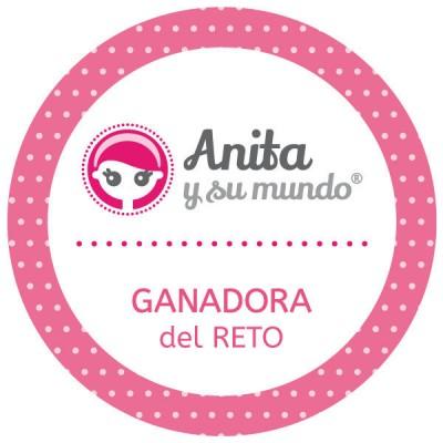 ganadora del reto Anita y su mundo