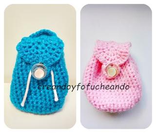 mini-mochilas-de-ganchillo-azul-y-rossa-creandoyfofucheando
