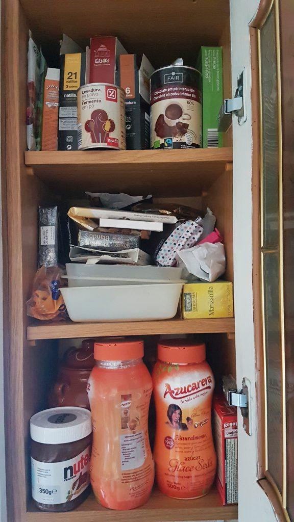 ordenar la despensa - organizar la comida en la cocina - evita duplicar comida