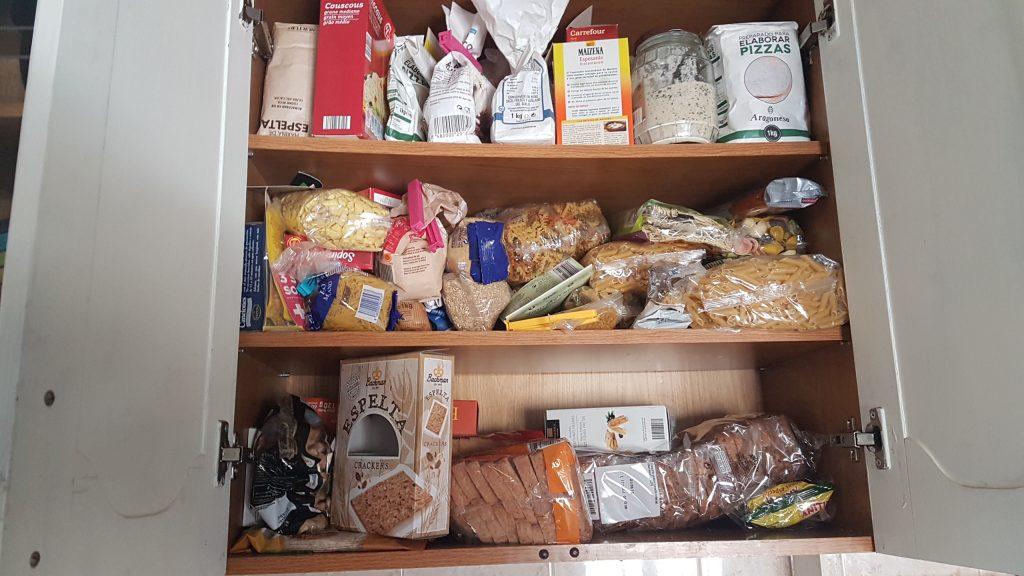 ordenar la despensa - organizar la comida en la cocina ordenar cuando la tengas llena