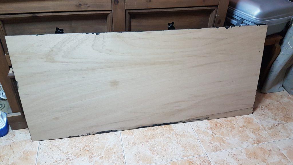 pintura de iman- Contrachapado de madera cortado a medida