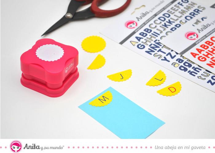 troqueladora de anita y su mundo para personalizar planificadores