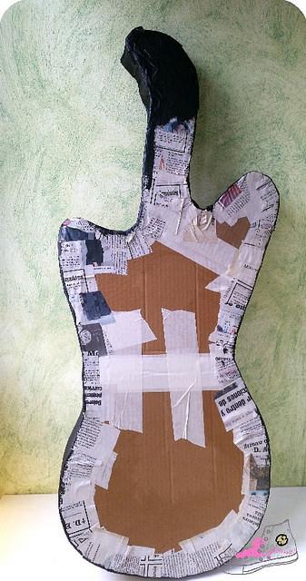 guitarra diy carnaval