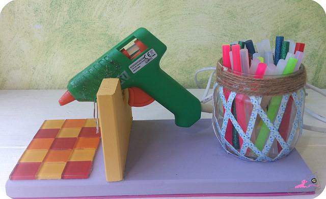 pistola de silicona