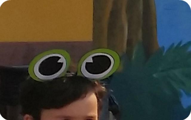ojos de rana