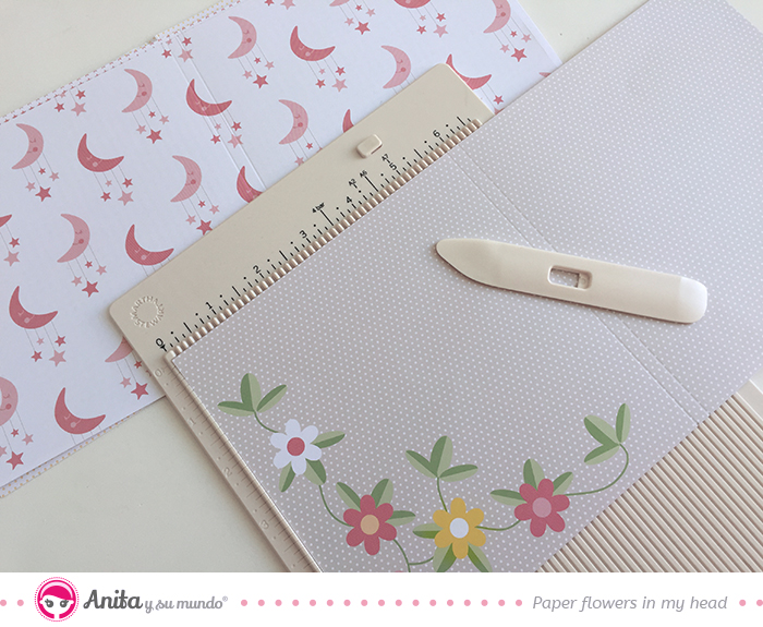 paginas interiores album scrapbooking