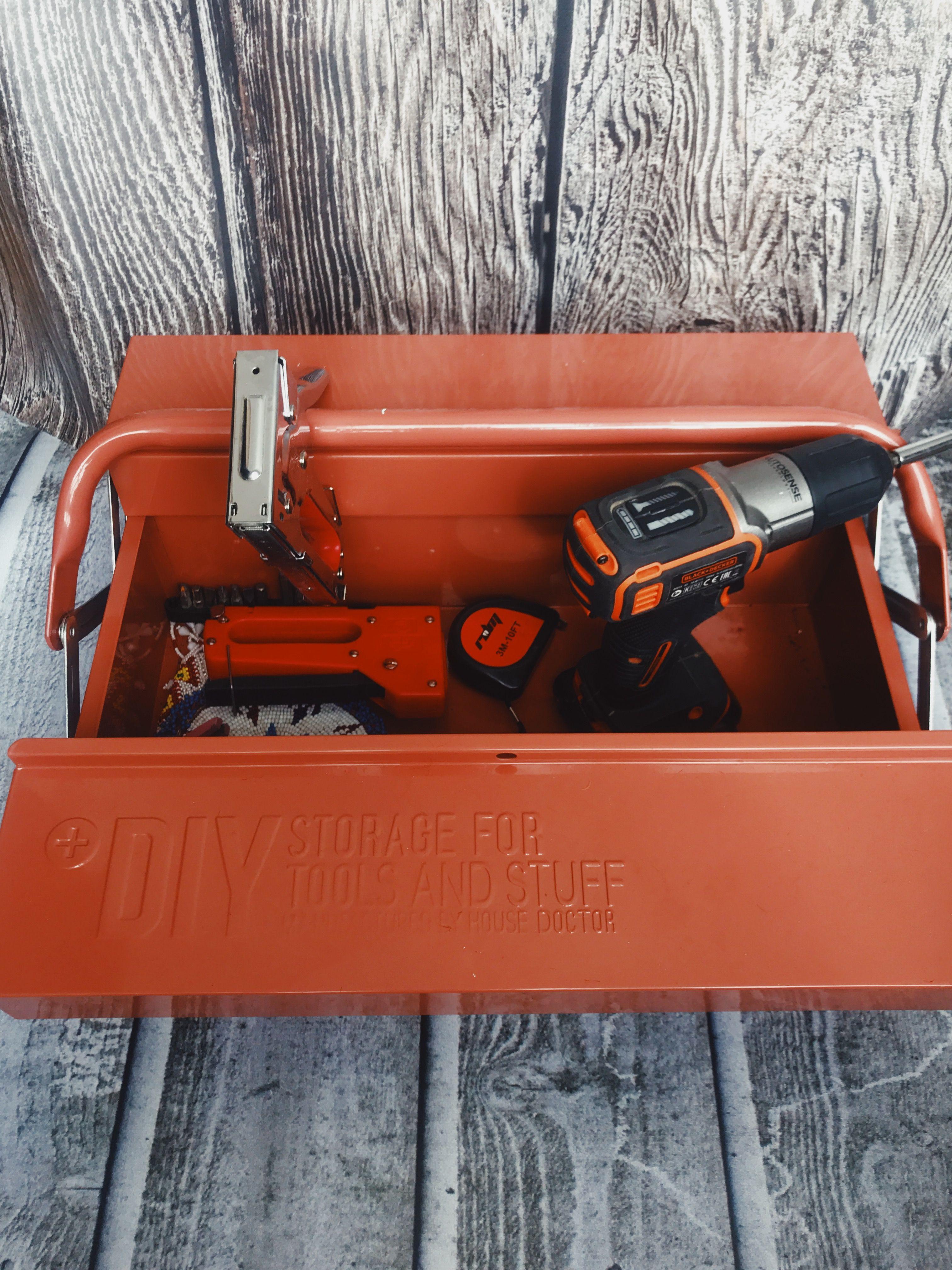 caja herramientas taladro