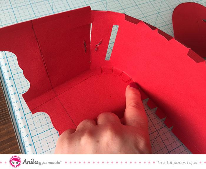 cómo montar una caja con forma de buzón