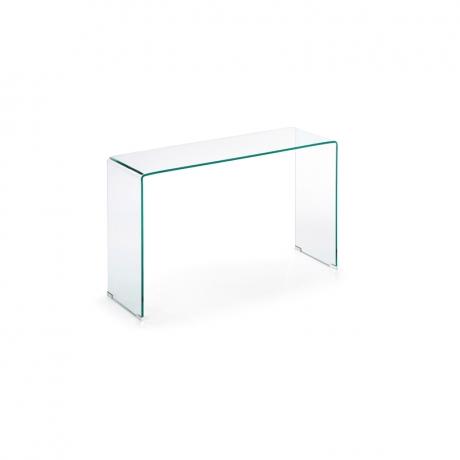 Mesa consola de cristal