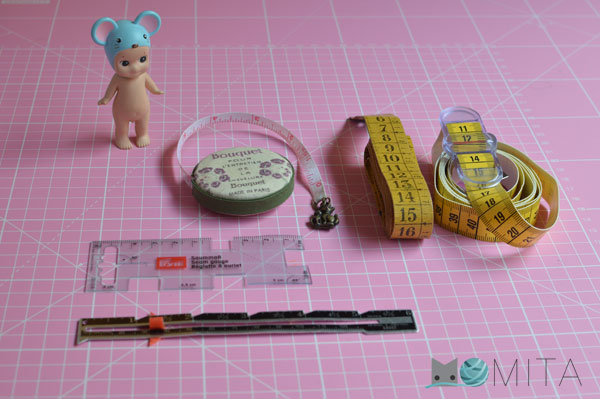 cinta métrica costura