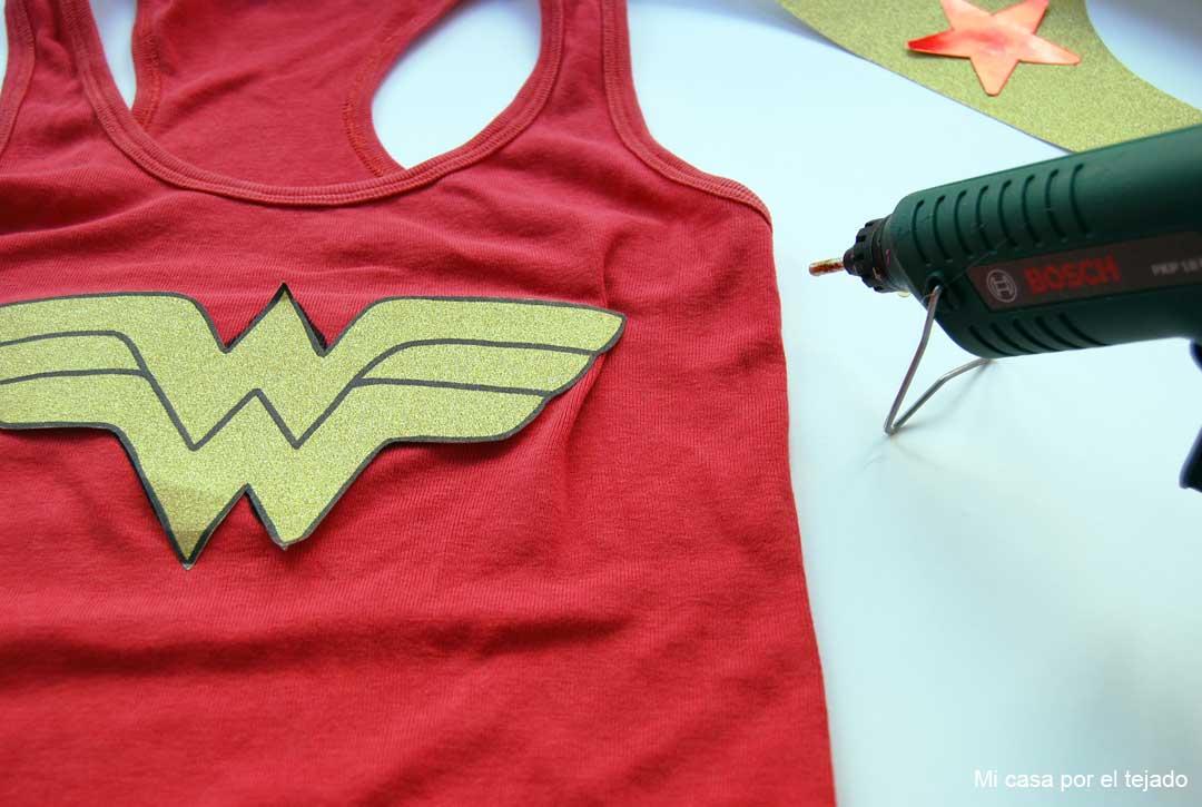 DIY Disfraz Wonder Woman by Micasaporeltejado