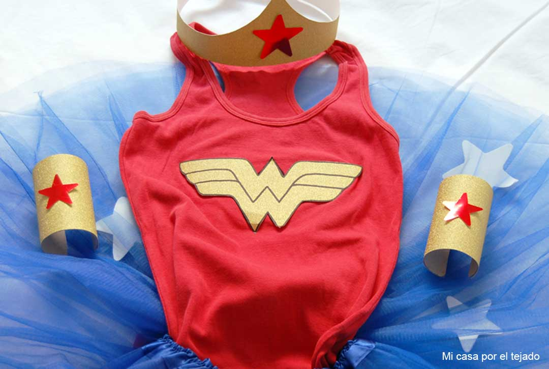 DIY Disfraz Wonder Woman by Micasaporeltejado