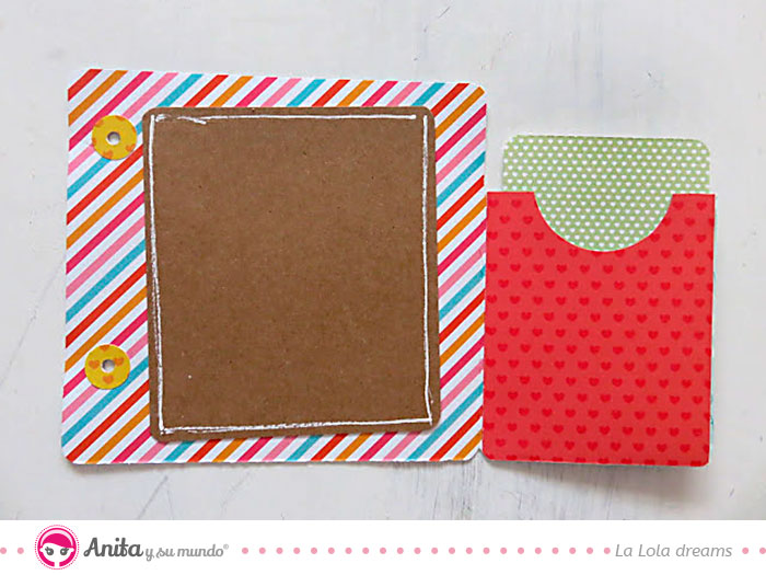 estructura scrapbook con plantilla descargable