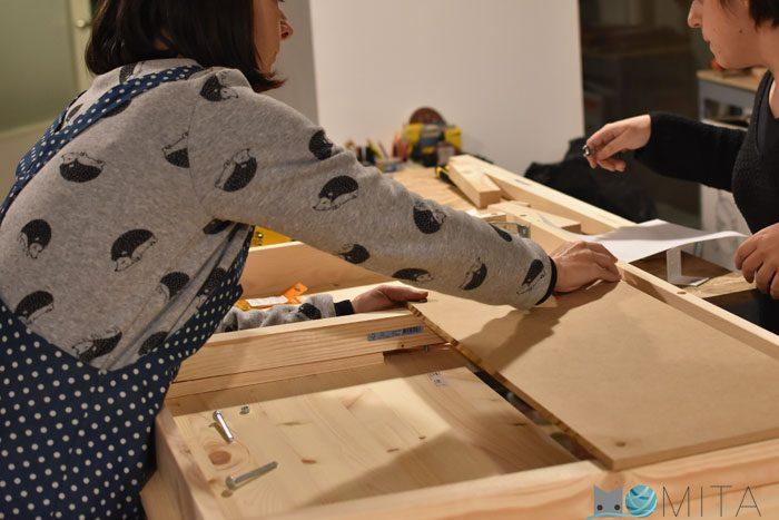 Como hacer mesa para maquina de coser