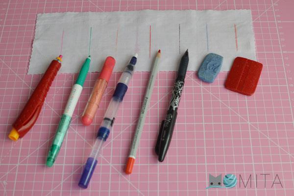 marcadores tela