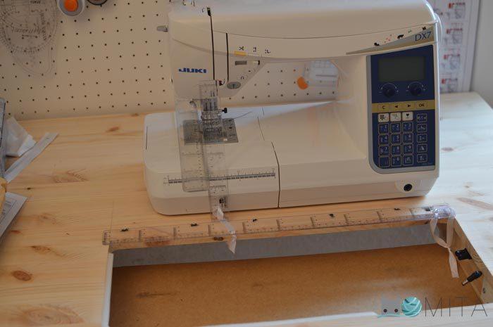 medidas maquina de coser