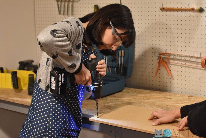 DIY paso a paso mesa para máquina de coser