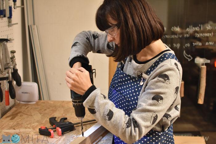 Hacer mesa para Máquina de coser