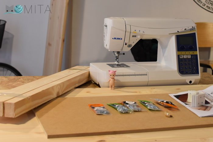 Tutorial mesa para máquina de coser
