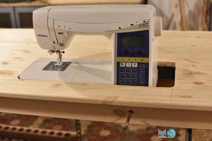 Mesa para Máquina coser portátil