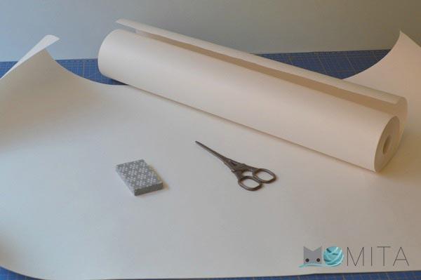 papel hacer patrones