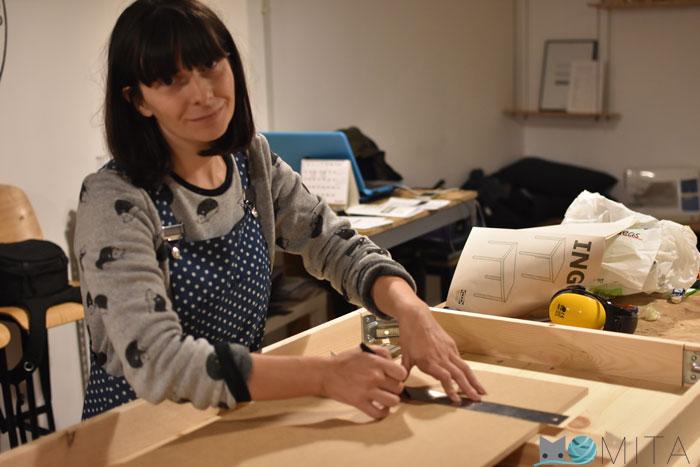 Bricolaje, mesa para máquina de coser