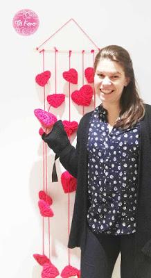 Photocall casero para San Valentín