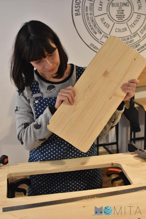 Cortar mesa para la máquina de coser