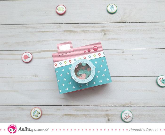 cómo hacer un objetivo de cámara en papel