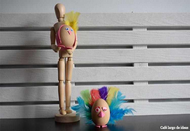 Manualidades con materialescolar.es: huevos de Pascua