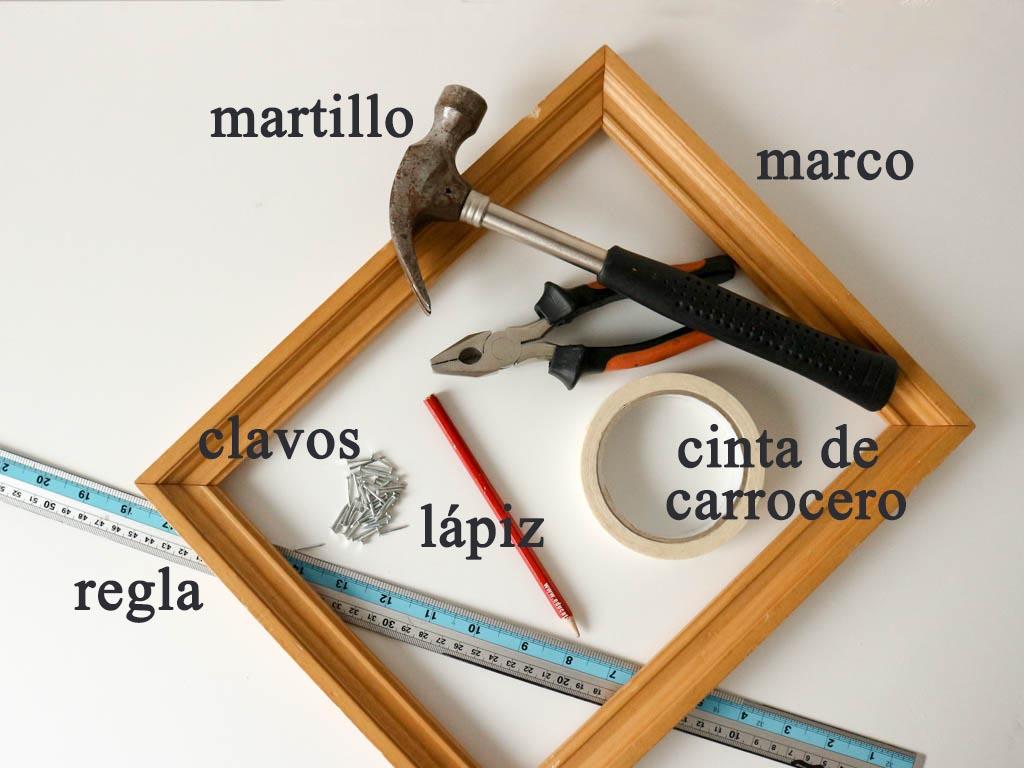 materiales como hacer un tapiz casero