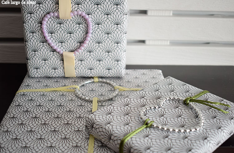 Packaging handmade con pulsera