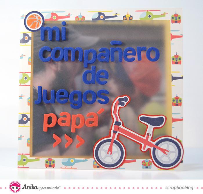 tarjeta dia del padre para niños