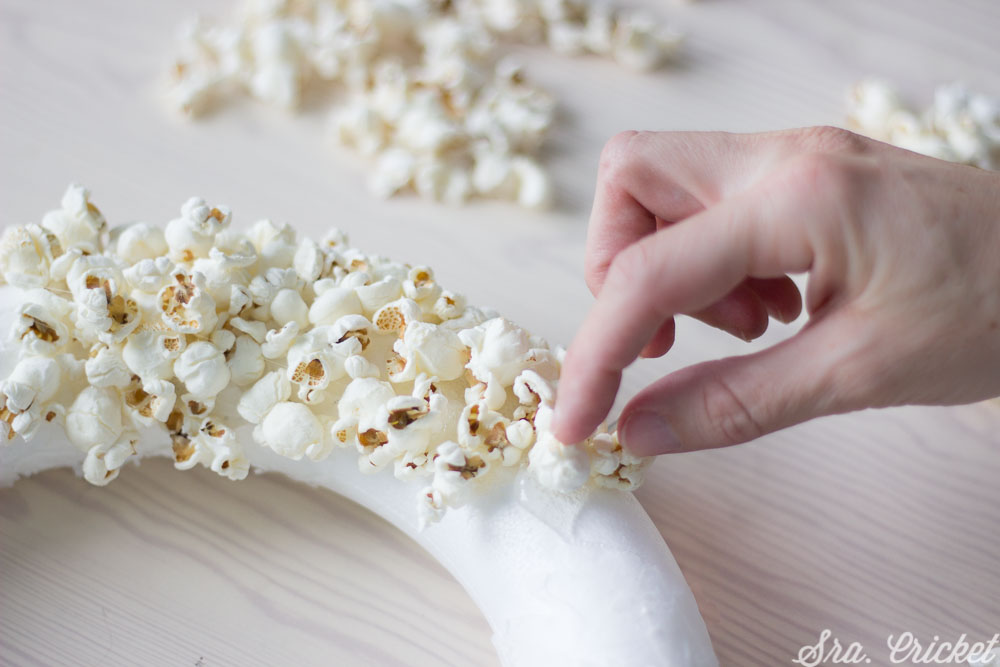 tutorial corona palomitas de maiz