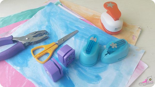 como hacer confeti