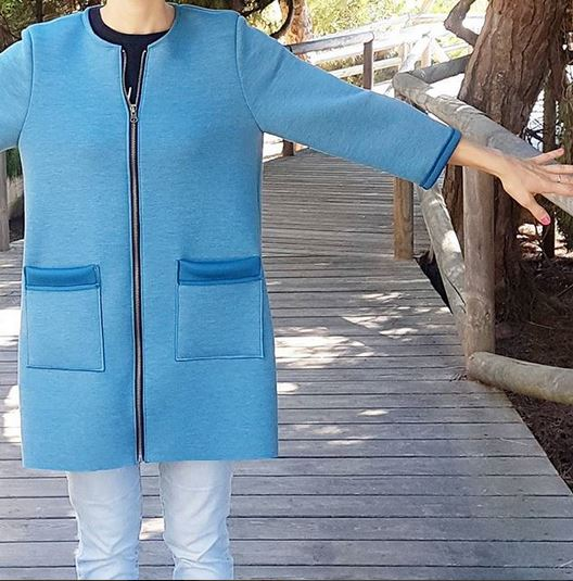 patrón abrigo fácil