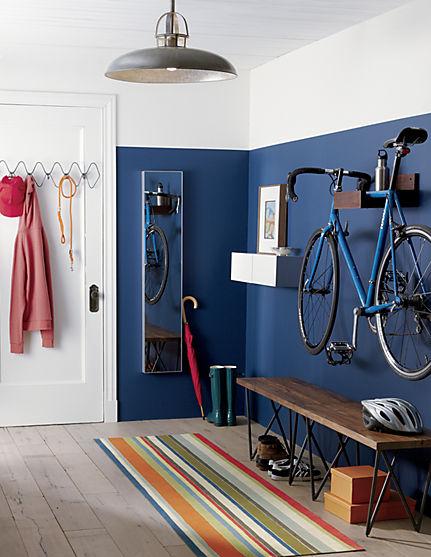 Guardar la bici en casa - Colocarla en el recibidor o hall de entrada