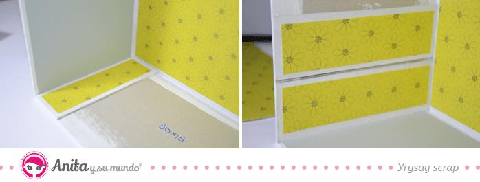 papel scrapbooking muebles scraproom