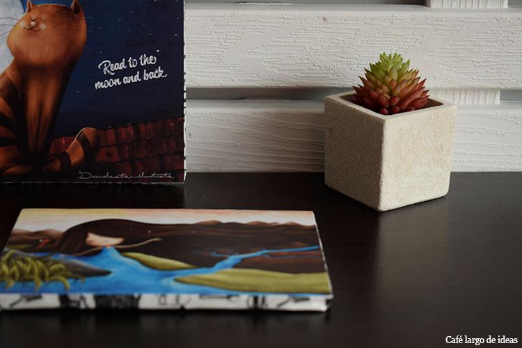 Postales con cartón pluma